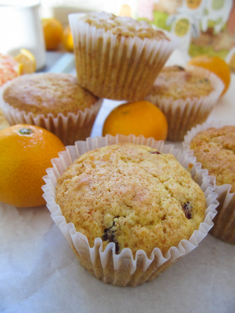 Clementine Cranberry Muffins