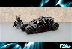 Tumbler (ZetoVince) Tags: car dark greek batcave lego vince batman vehicle knight instructions minifig batmobile tumbler zeto foitsop zetovince dreamdealer