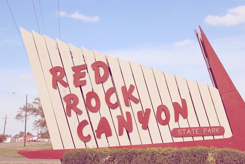 RedRockCanyonSign