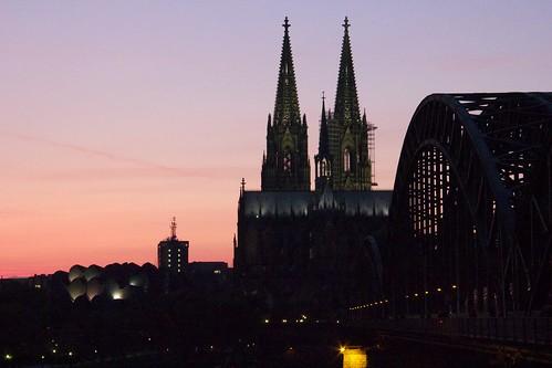 Kölner Dom at Sunset