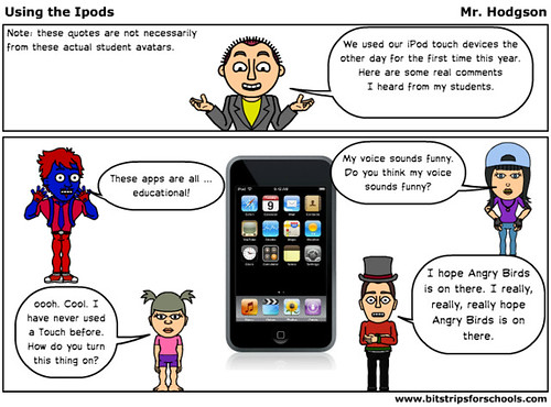 Using Our iPods: What I Heard