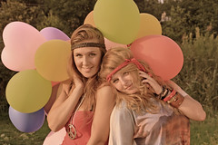 baloons (RoYaLHigHnEsS1) Tags: party portrait colors girl colorful baloons