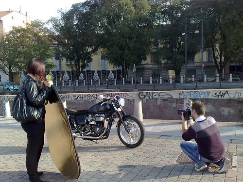 La foto della moto by durishti