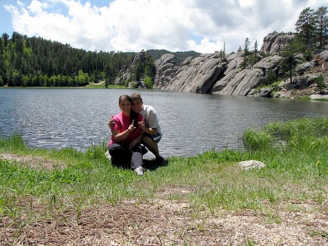 Us at Sylvan Lake