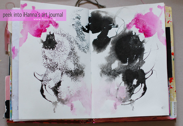 Ink droppings 1