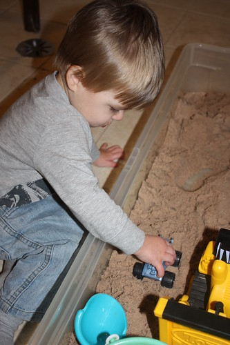 Nate's Indoor Sandbox