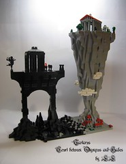 Tartarus ('LL') Tags: castle classic rock clouds work court ancient lego olympus ll hades tartarus olimp lolino