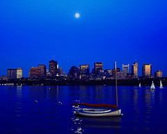 Full Moon over Boston (Shore_Photo) Tags: moon boston sailboat canon ma eos fullmoon beaconhill 30d shorephoto