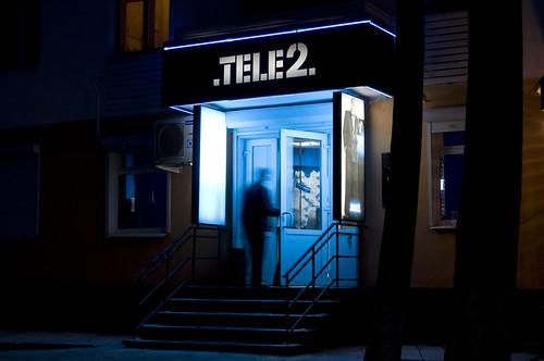 tele2 вывеска