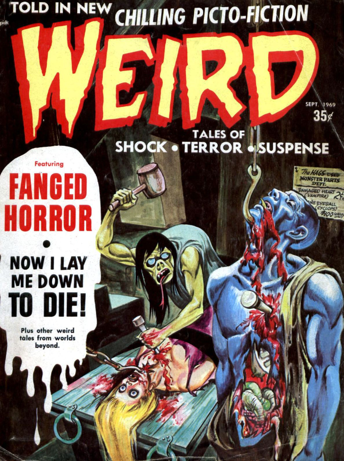 Weird Vol. 03 #4 (Eerie Publications, 1969)