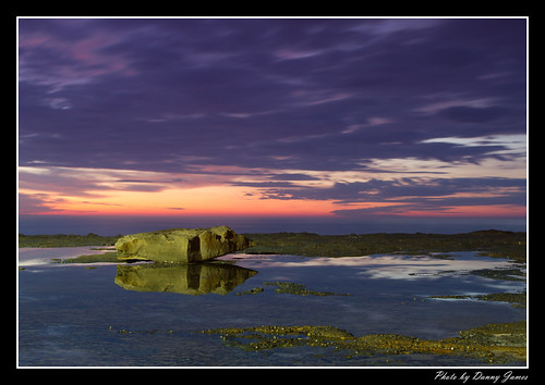 sunrise - the cowry hole - 30-10-2011_0004-Framed