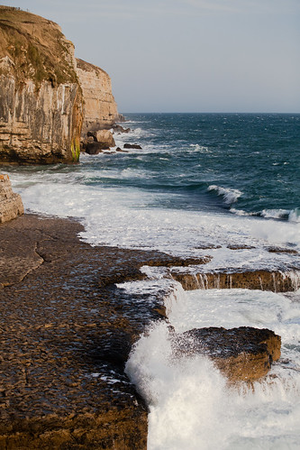 The ledge at dancing ledge