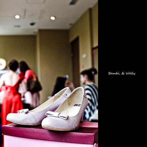 [wedding] [100/365] bride's shoes