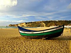 Mimosa (Jesus_l) Tags: portugal mar europa barca nazar leira jesusl