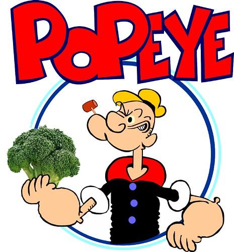 Popeye Switching To... Super Broccoli?