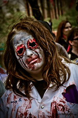 Hollow (Corrie Brookhouse (ADORNMENT PHOTOGRAPHY)) Tags: ontario canada halloween female portraits costume blood zombie hamilton gore zombiewalk nikond7000 adornmentphotography
