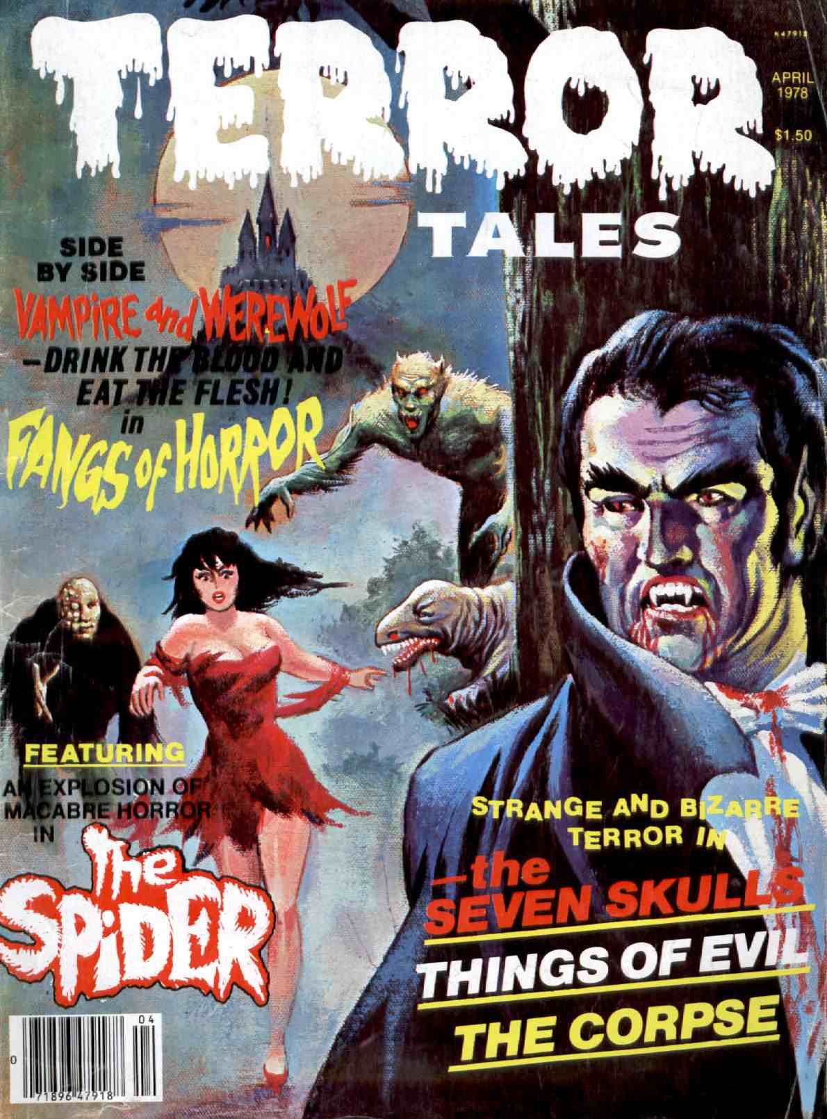 Terror Tales Vol. 09 #2 (Eerie Publications, 1978)