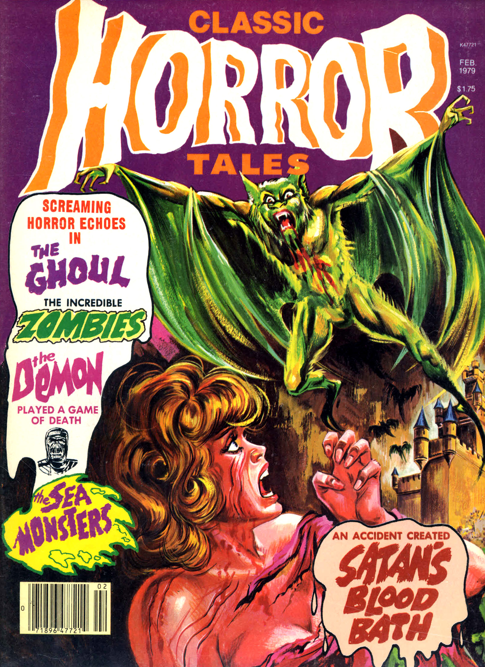 Horror Tales - Vol.10 #1 (Eerie Publications, 1979)