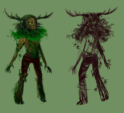 Dryad wip (now with clothes)