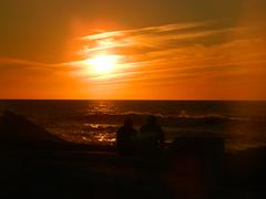 Romantisme dans un temps de matrialisme (AmineAleo) Tags: light red sun set de soleil couple shadows coucher ombre morocco lumiere maroc romantic romantique temara harhoura romatisme