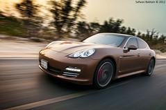 Porsche Panamera (Safwan Babtain -  ) Tags: art by nikon porsche panning safwan panamera  18105mm flickraward d300s babtain
