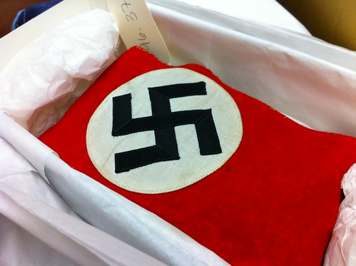 Swastika armband by George