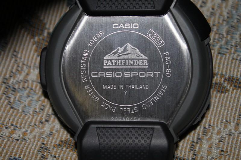 Casio Mens PAG80-1V Pathfinder