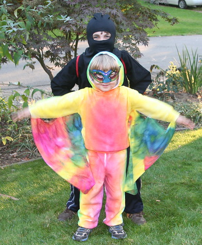 Ninja and Rainbow Dragon