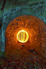 Bonus tunnel Fire Orb (- Hob -) Tags: longexposure lightpainting stone fire raw orb tunnel cumbria dodgy collapsed lightsphere singleexposure 光绘 lightjunkies 光の絵画 wwwfacebookcompageslightpaintingorguk517424921642831