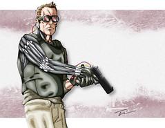 Cyberware_by_AegisDeadlands (grimjaws) Tags: goggles cyberarm smartgun