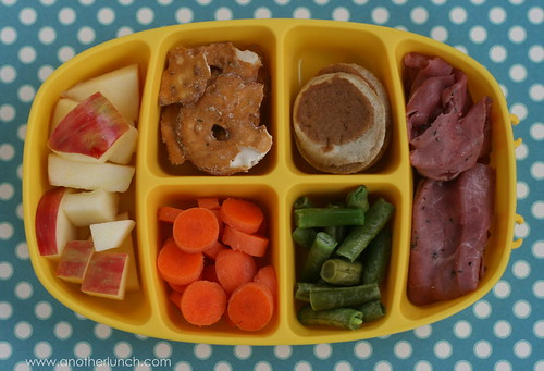 nibble tray toddler lunch