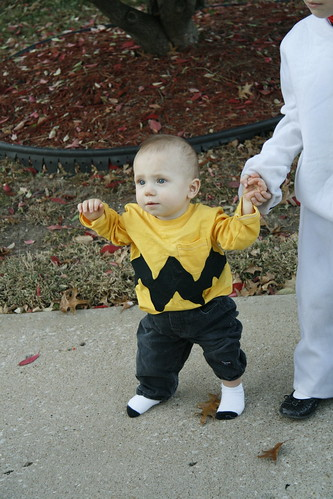 Jonas as Charlie Brown, Halloween 2011