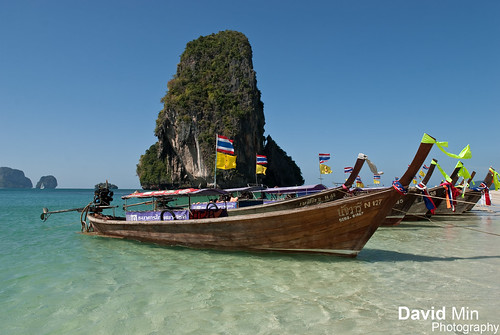Railay, Thailand - Hat Phra Nang Beach by GlobeTrotter 2000
