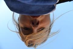 Autofoto. (mi amigo de lo ajeno) Tags: blue me nose eyes natural upsidedown retrato piercing ring colored autophoto autofoto