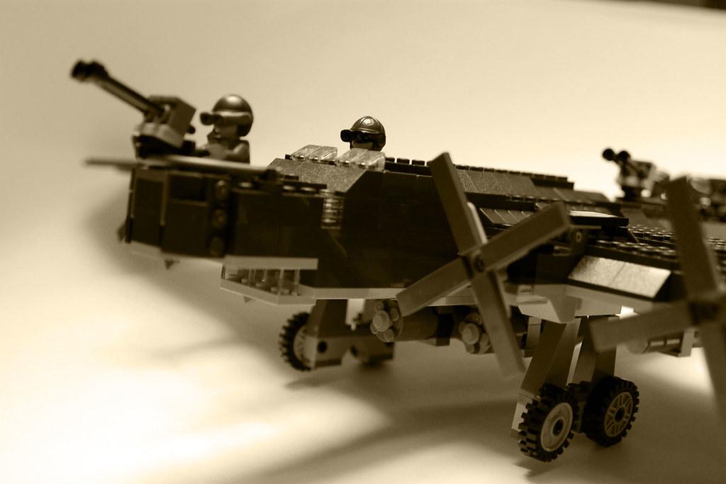 how to make a lego ww2 bomber