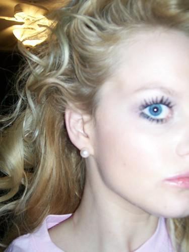 Profile of Beautiful Female