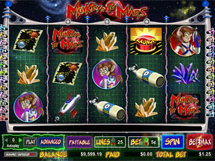 Monkeys to Mars slot game online review