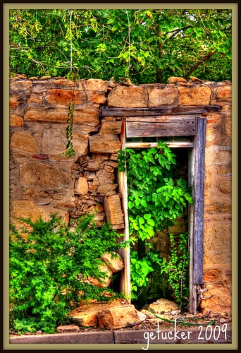 Texas Doorway by the Gallopping Geezer