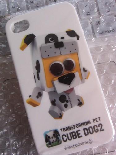 iPhone Podアプリ Cube Dog