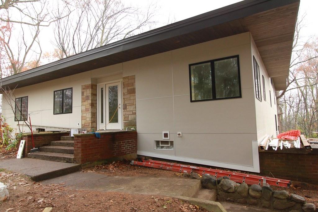 DeBord Residence Cedar Soffet