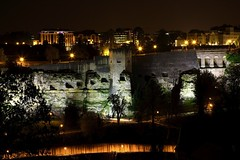 Night Shot of Luxembourg City (Christophe Pfeilstcker) Tags: night europe nacht luxembourg nuit luxembourgcity xris74