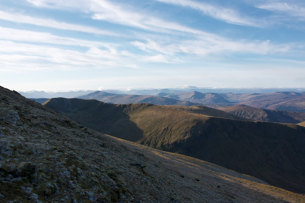 North-west from Ben Lawers