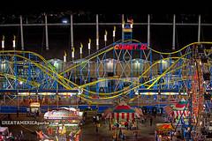 formerly of Expo 67 (ezeiza) Tags: carnival oklahoma night la amusement portable ride expo state steel statefair fair ii roller rides rollercoaster tulsa midway wildcat ok comet coaster 67 laronde expo67 schwarzkopf ronde tulsastatefair cometii