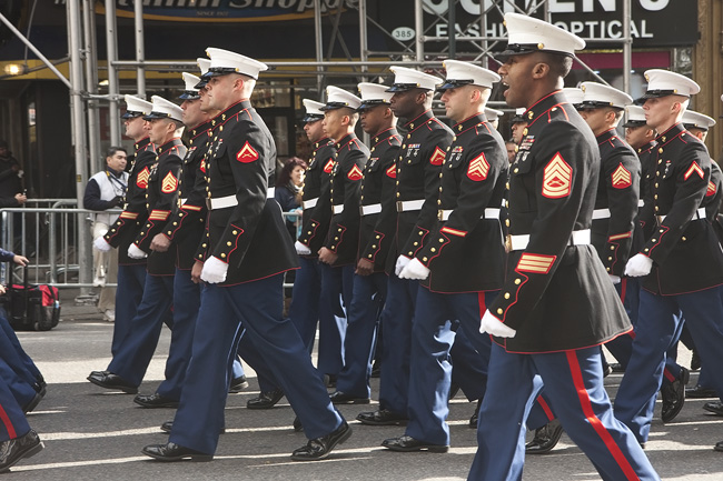Veteran's Day Parade, NYC