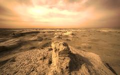 [フリー画像素材] 自然風景, 砂漠, 風景 - 中国・中華人民共和国, ゴビ砂漠 ID:201111172000