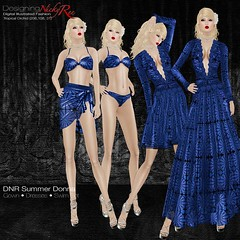 DNR Summer Donna Square Posters Blue (designingnickyree) Tags: bikini dresses gowns sarongskirt nickyree slfashion resortfashion