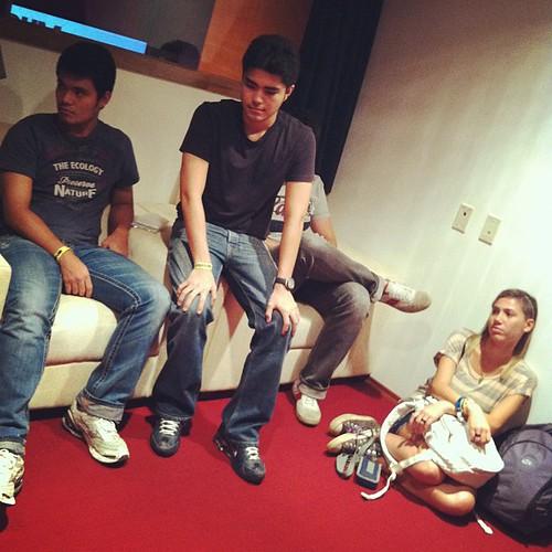 Os jovens da Rede Sinapse (paulista) observados pela jornalista e blogueira carioca @bibianamaia #avidaquernoswu #forumswu