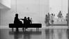 Cuidant als nets de nou (Sancho Fotografia) Tags: barcelona people bw españa white black blanco museum contraluz lumix blackwhite spain arquitectura gente negro bcn edificio catalonia niños panasonic catalunya museo cataluña montjuic gaussian blanconegro espanya caixaforum gaussiano fz38 josémaríasancho