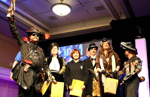 Costume Contest Winners at Hal-Con 2011 in Halifax, Nova Scotia
