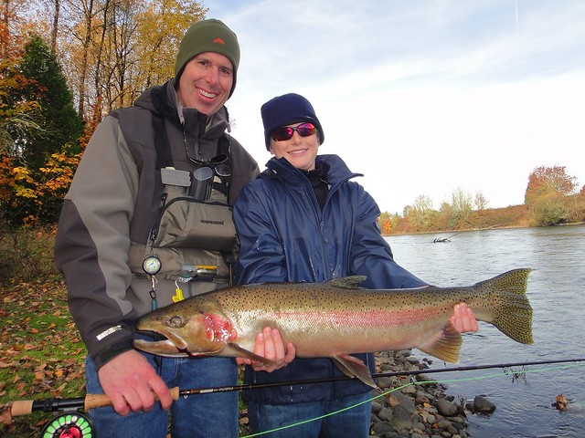 Eric and Christopher Stowell Steelhead